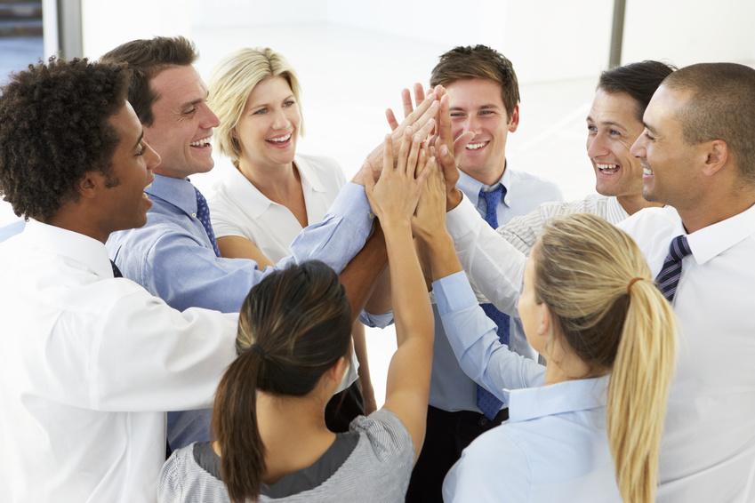 Teamarbeit im Vertrieb